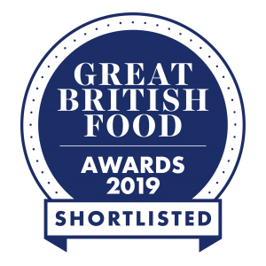 Great British Food awards shortlisted Blueberry Gin